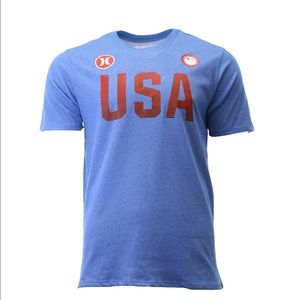 ✨3 for $25✨Hurley Dri-Fit Premium USA  Olympic Tee